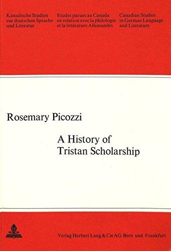 History of Tristan Scholarship: Picozzi, Rosemary