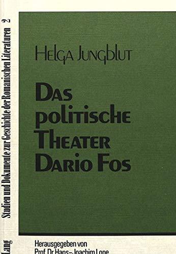 9783261026408: Das politische Theater Dario Fos (Studien und Dokumente zur Geschichte der romanischen Literaturen) (German Edition)