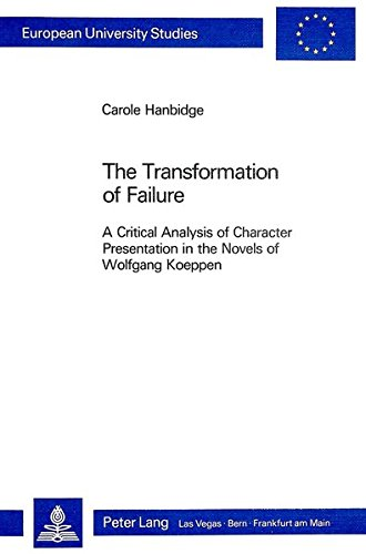 Transformation of Failure: Hanbidge, Carole
