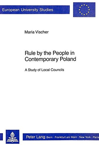 Rule by the People in Contemporary Poland: Vischer, Maria