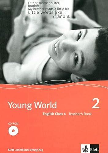 9783264835328: Young World English Class 4, Teacher's Book m. CD-ROM