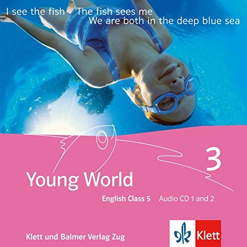 Young World English Class 5, 2 Audio-CDs