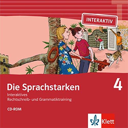 9783264840261: Die Sprachstarken 4: CD-ROM. Interaktives Rechtschreib- und Grammatiktraining by