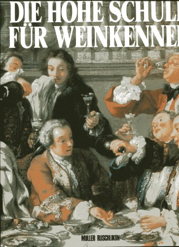 9783275008438: Die Hohe Schule für Weinkenner