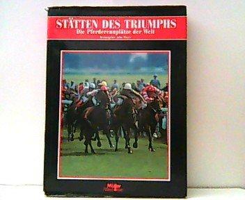 9783275010592: Stätten des Triumphs. Pferderennplätze der Welt