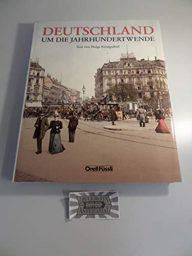 9783280019986: Deutschland um die Jahrhundertwende