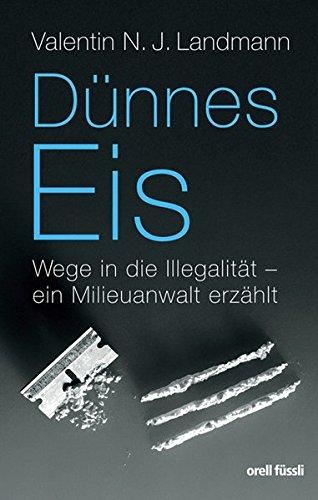 9783280053331: Dünnes Eis: Wege in die Illegalität - ein Milieuanwalt erzählt