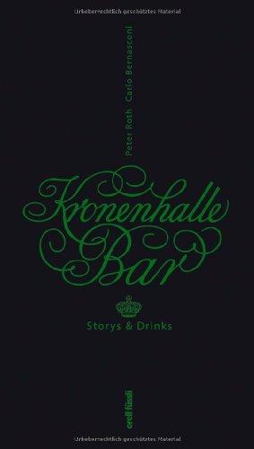 9783280053645: Kronenhalle Bar: Drinks & Storys
