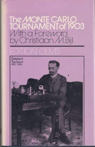 9783283001278: Monte Carlo Tournament of 1903