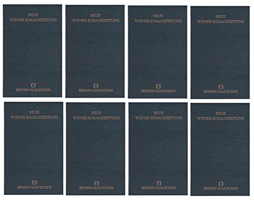 9783283001674: Neue Wiener Schachzeitung: Organ für das gesamte Schachleben. Beigebunden: Festschrift der Wiener Schachzeitung 1898/1923-1933 und Albert Becker, Ein ... zur Wiener Schachzeitung 1934, 1935 und 1936