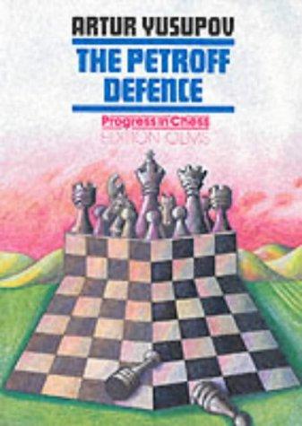 Petroff Defence: Yusupov, Artur;Yusupov, Arthur