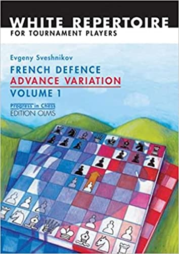 9783283005238: 1: French Defence Advance Variation: Volume One (Progress in Chess)