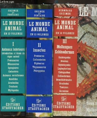 Le monde animal en 13 volumes: Bernhard Grzimek