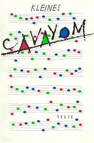 Kleines Cavayom: Liederbuch Des Cvjm, Ohne Noten,
