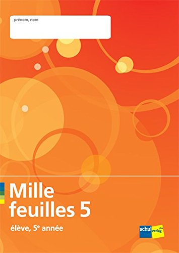 9783292005786: Mille feuilles 5: élève by