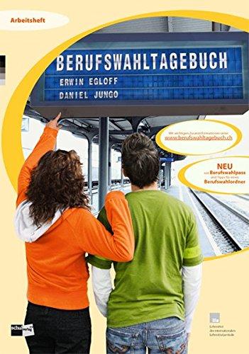 9783292005939: Berufswahltagebuch: Arbeitsheft
