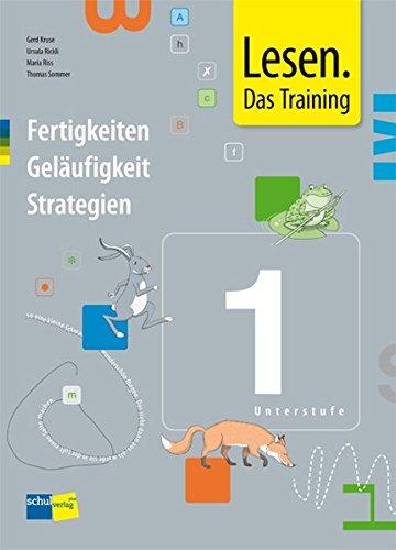 9783292006226: Lesen. Das Training 1 (Unterstufe): Arbeitsmappe