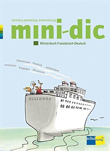 9783292006264: mini-dic: Wörterbuch Französisch-Deutsch / Dictionnaire Allemand-Français