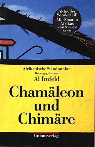 9783293001831: Chamäleon und Chimäre. Afrikanische Standpunkte.