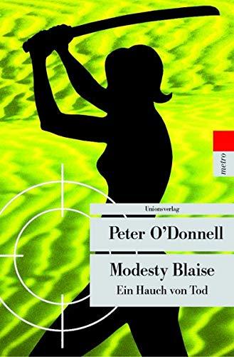 9783293203877: Modesty Blaise : Ein Hauch von Tod (Unionsverlag Taschenbuch)