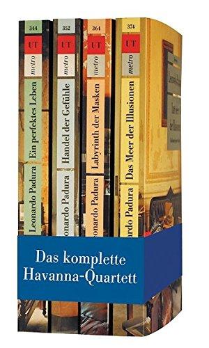 9783293291232: Das Havanna-Quartett. Band 1-4: Ein perfektes Leben - Handel der Gefühle - Labyrinth der Masken - Das Meer der Illusionen