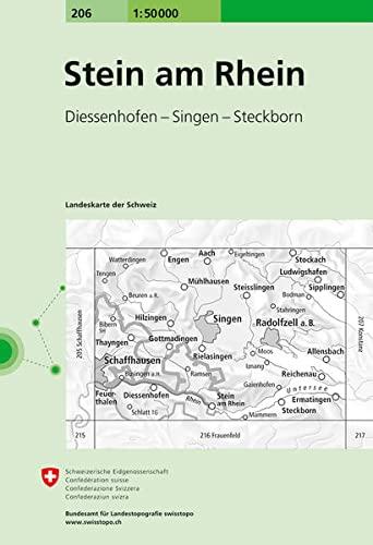 Stein am Rhein 1 : 50 000