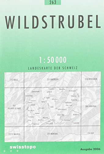 Swisstopo 1 : 50 000 Wildtrubel