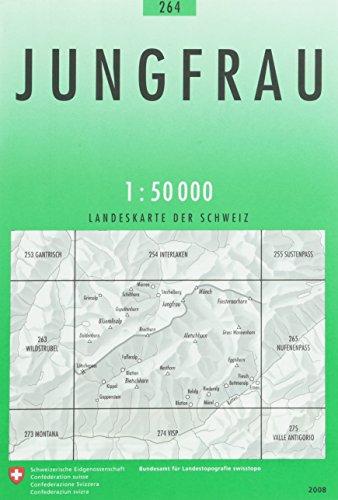 Swisstopo 1 : 50 000 Jungfrau