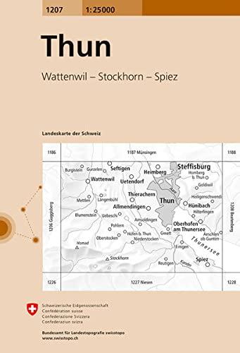 thun (Landeskarte Der Schweiz)