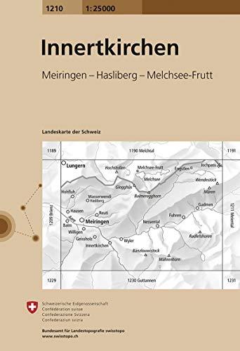 Innertkirchen : 1/25 000 (Landeskarte Der Schweiz): Swisstopo