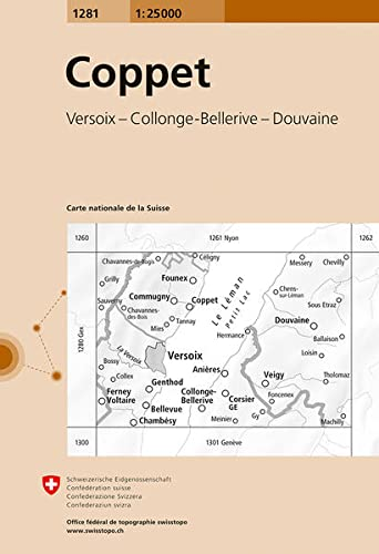 Monthey. 1/25000 (Office federal de topographie): Collectif