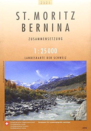 9783302025216: st moritz bernina
