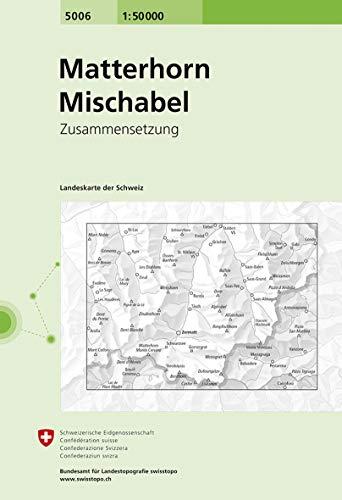 9783302050065: Carte routière : Matterhorn - Mischabel
