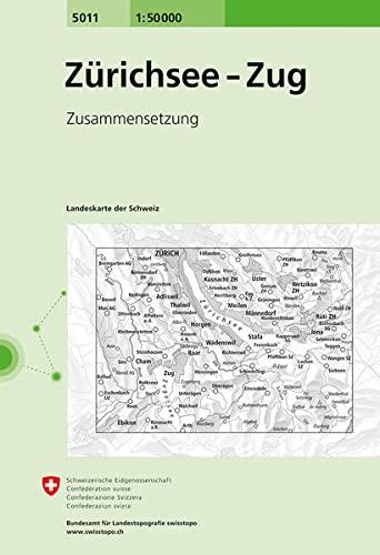 Z�richsee - Zug 1 : 50 000