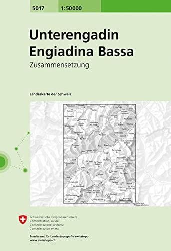 9783302050171: Unterengadin.Engiadina Bassa (National Map Composite)