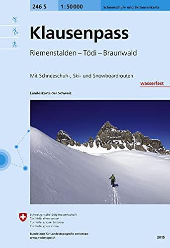 9783302202464: Klausenpass Skipapier Impermeable: AND Lach (Landeskarte Der Schweiz)
