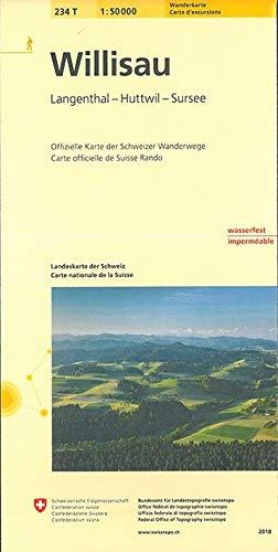 9783302302348: Willisau Pedestrelegenthal Napf Sursee (Wanderkarten)