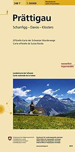 Swisstopo 1 : 50 000 Prättigau: Schanfigg
