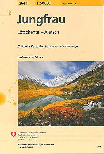 Swisstopo 1 : 50 000 Jungfrau: Collectif