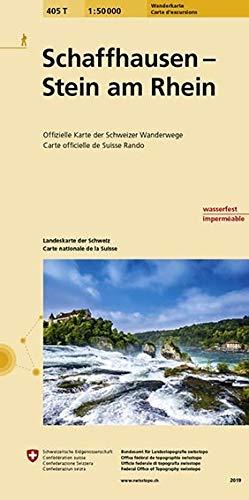 Swisstopo 1 : 50 000 Schaffhausen - Stein am Rhein