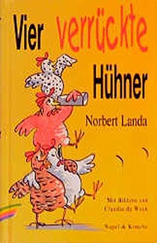 9783312008100: Vier verruckte Huhner [Hardcover] by Landa, Norbert