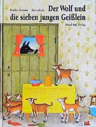 9783314006838: Der Wolf und die sieben jungen Geißlein.