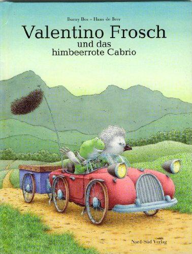 9783314010781: Valentino Frosch und das himbeerrote Cabrio