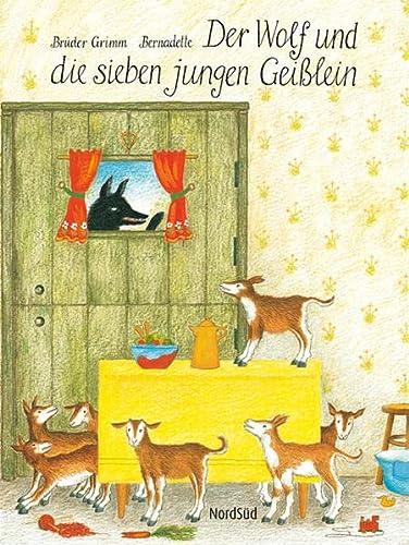 9783314016509: Der Wolf und die sieben jungen Geißlein