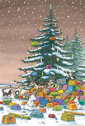 Kleiner Weihnachtskalender.9783314103575 Adventskalender Kleiner Eisbär Unter Dem