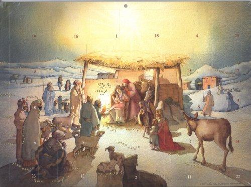 9783314219153: Calendrier de l'Avent Adam l'Adoration des Rois Mages