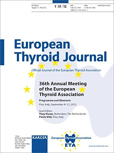 9783318022223: European Thyroid Association: 36th Annual Meeting, Pisa, September 2012: Programme and Abstracts
