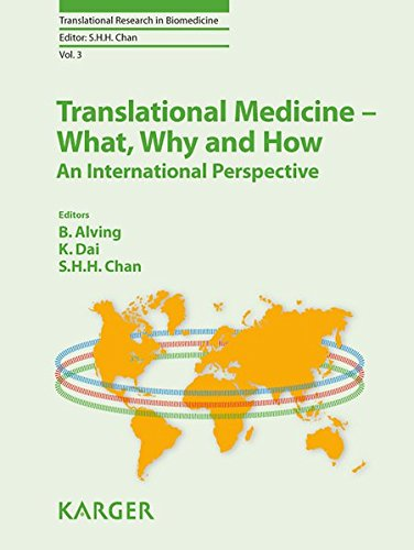 9783318022841: Translational Medicine - What, Why and How: An International Perspective (Translational Research in Biomedicine)