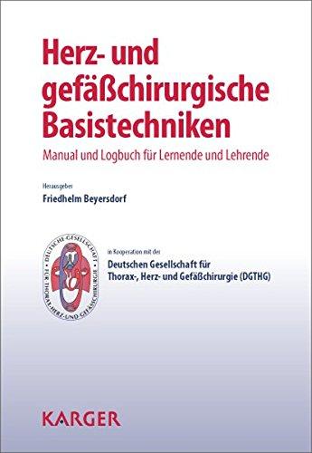 9783318023220: Herz- und gefässchirurgische Basistechniken: Manual und Logbuch für Lernende und Lehrende