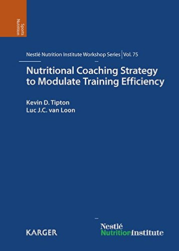 9783318023329: Nutritional Coaching Strategy to Modulate Training Efficiency: 75th Nestlé Nutrition Institute Workshop, Mallorca, December 2011 (Nestlé Nutrition Institute Workshop Series, Vol. 75)